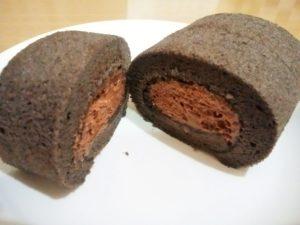 もちもち生チョコクリームロール