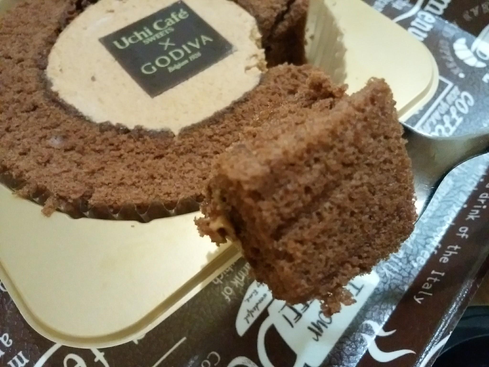 キャラメルショコラロールケーキ