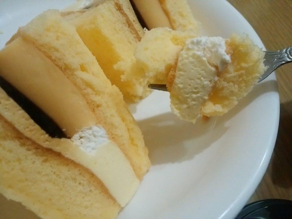 プリンのケーキサンド