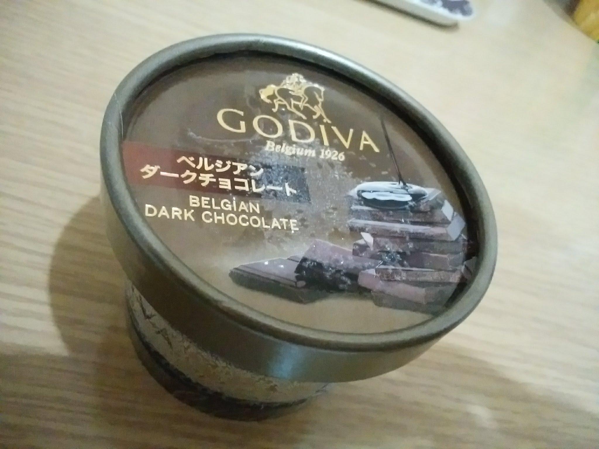 GODIVA カップアイス ベルジアンダークチョコレート