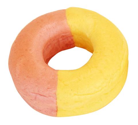 いちごとカスタードのリングパン