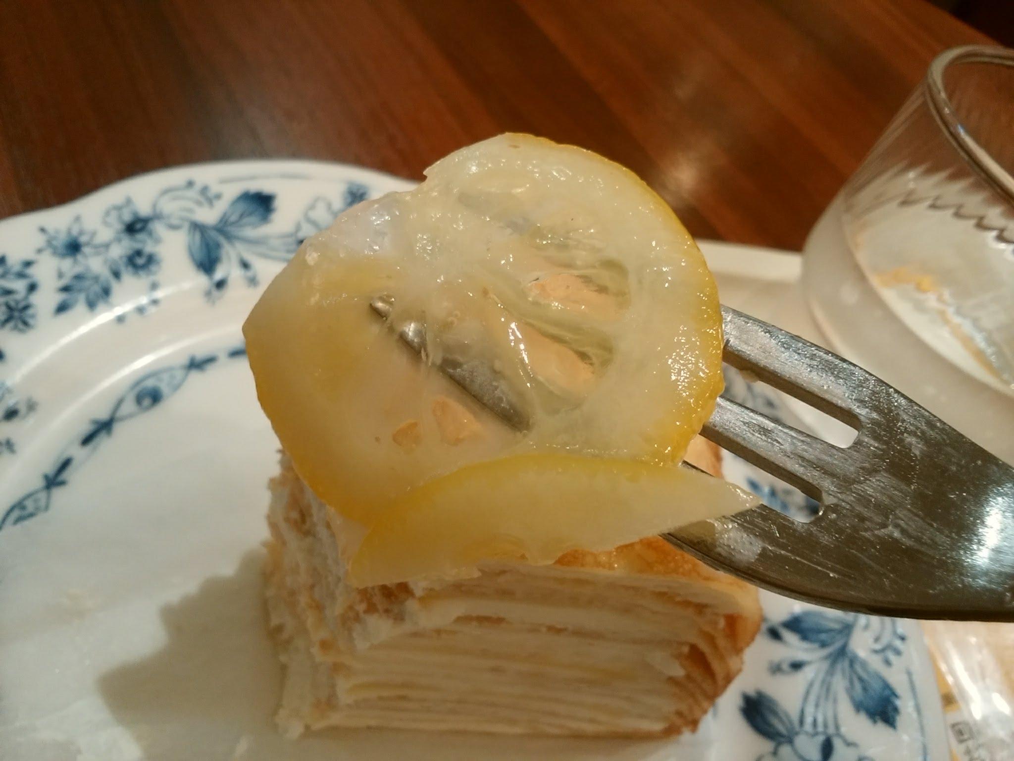 レモンのミルクレープ