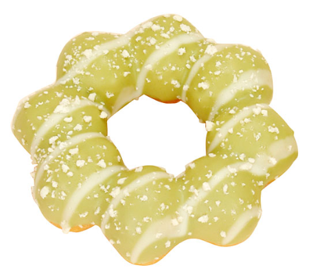 モッチリングドーナツ(宇治抹茶チョコ&ホワイトチョコ)