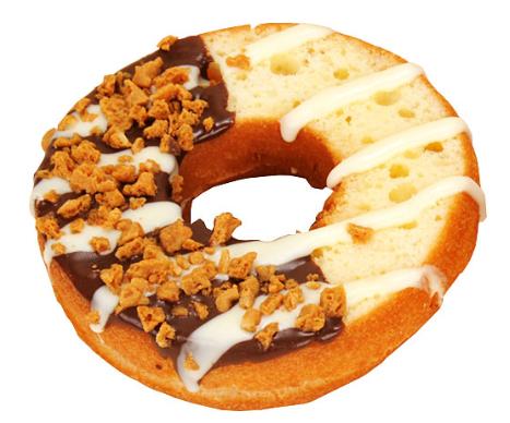 ケーキサンドドーナツ(ミルクホイップ)