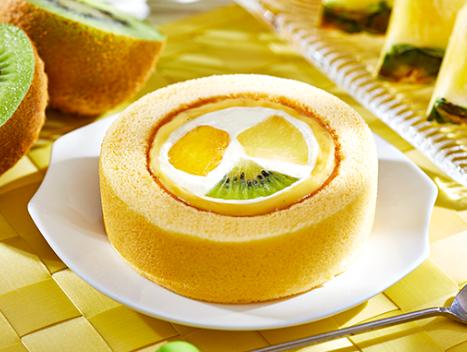 プレミアム フルーツロールケーキ