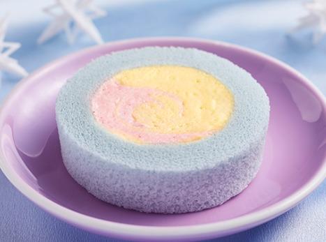 プレミアムカラフルユニコーンロールケーキ
